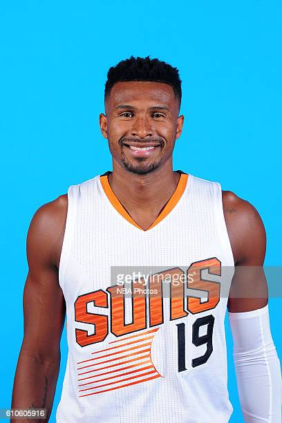 Leandro Barbosa of the Phoenix Suns poses for a headshot during the 20162017 Phoenix Suns Media Day on September 26 at Talking Stick Resort Arena in...