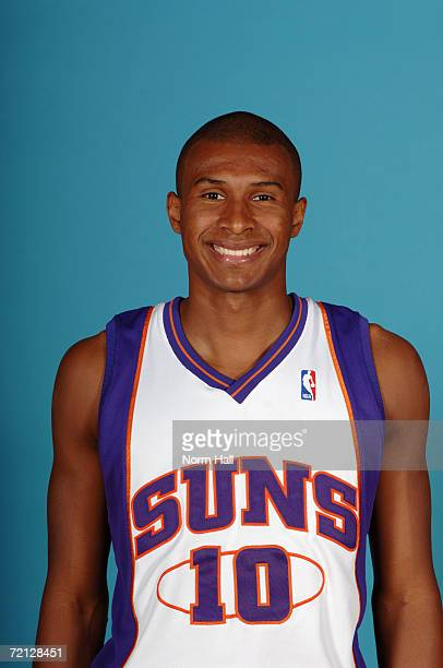 Leandro Barbosa of the Phoenix Suns poses for a photo during Media Day at US Airways Center on September 29 2006 in Phoenix Arizona NOTE TO USER User...