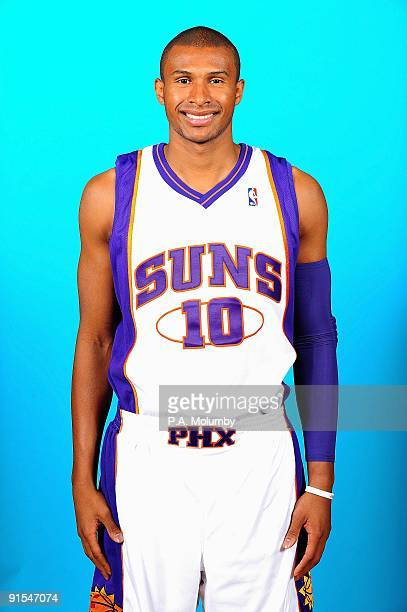 Leandro Barbosa of the Phoenix Suns poses for a portrait during 2009 NBA Media Day on September 28 2009 at US Airways Center in Phoenix Arizona NOTE...