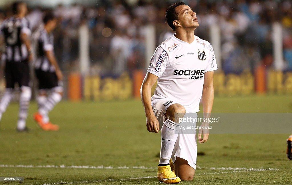 Santos v Figueirense - Brasileirao Series A 2014 : News Photo