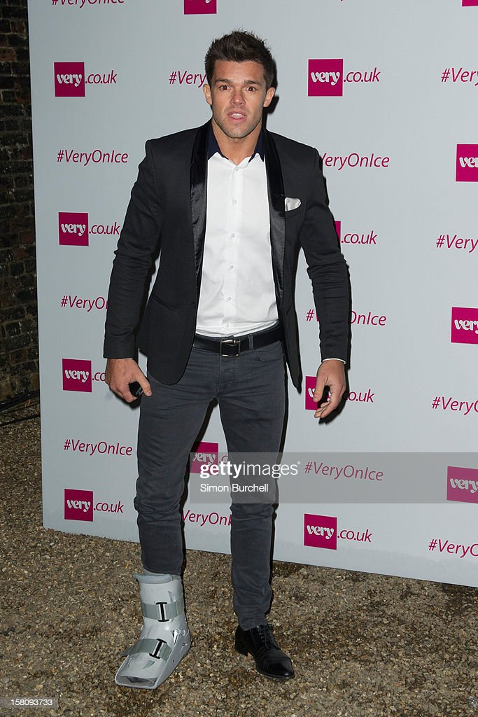 Leandro Penna attends the Very.co.uk Christmas catwalk on ice show at Tower of London on December 10, 2012 in London, England.