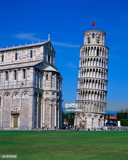 Leaning Tower of Pisa and the Duomo, Pisa, Tuscany, Italy