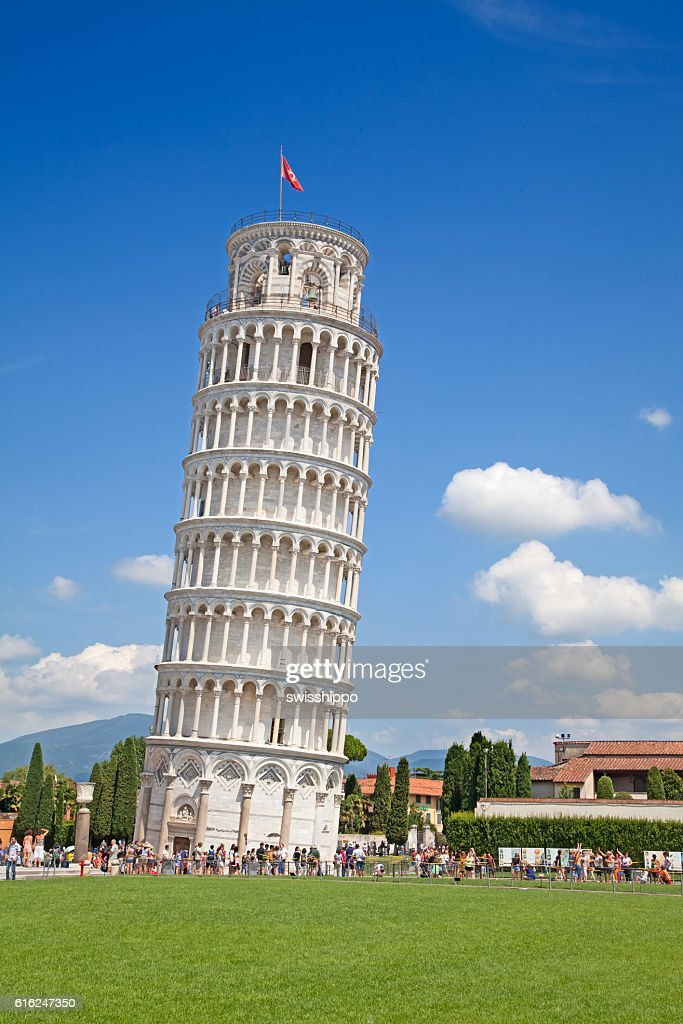 Leaning tower of Pisa : Stock Photo