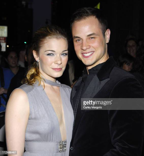 LeAnn Rimes and Dean Sheremet during 2006 New Yorkers For Children Gala at Cipriani in New York City New York United States