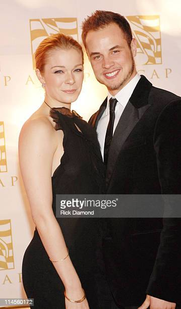 LeAnn Rimes and Dean Sheremet during 44th Annual ASCAP Country Music Awards Show at Ryman Theater in Nashville TN United States
