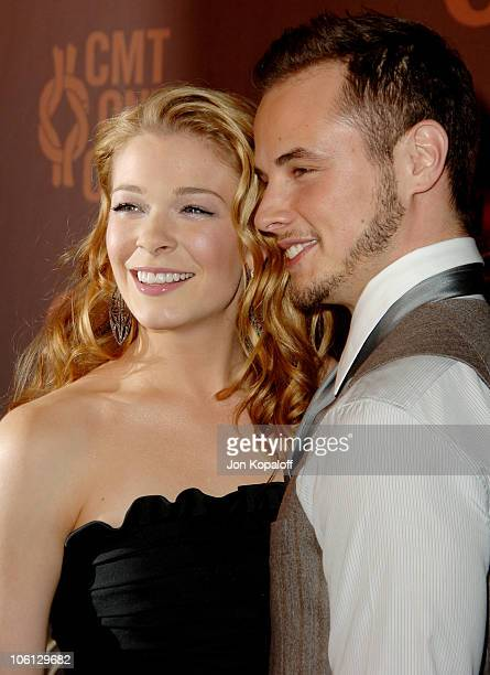 LeAnn Rimes and Dean Sheremet during CMT Giants Honoring Reba McEntire Arrivals at Kodak Theatre in Hollywood California United States