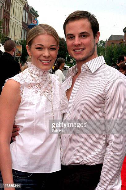 LeAnn Rimes and Dean Sheremet during CMT Hosts the 'Elizabethtown' Movie Premiere Arrivals at Franklin Cinema in Nashville Tennessee United States