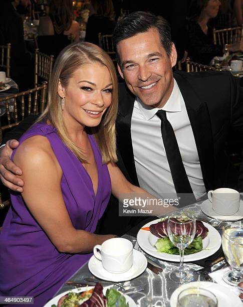 LeAnn Rimes and Eddie Cibrian attends 2014 MusiCares Person Of The Year Honoring Carole King at Los Angeles Convention Center on January 24 2014 in...