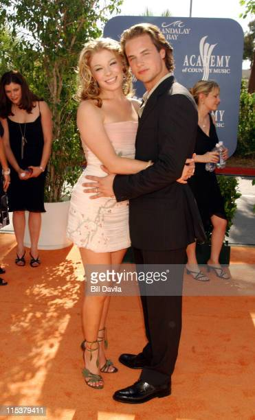 LeAnn Rimes and husband Dean Sheremet during 38th Annual Academy of Country Music Awards Arrivals at Mandalay Bay Events Center in Las Vegas Nevada...
