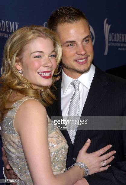 LeAnn Rimes and husband Dean Sheremet during 39th Annual Academy of Country Music Awards Orange Carpet at Mandalay Bay Resort and Casino in Las Vegas...