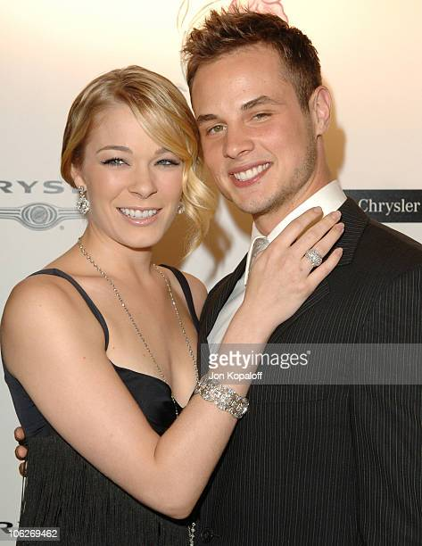 LeAnn Rimes and husband Dean Sheremet during 8th Annual Lili Claire Foundation Benefit at Beverly Hilton Hotel in Beverly Hills California United...