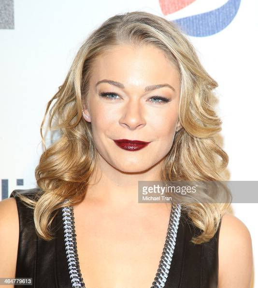LeAnn Rimes arrives at Billboard 2nd Annual Power 100 cocktail reception held at Emerson Theater on January 23 2014 in Hollywood California
