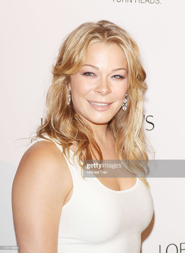 LeAnn Rimes arrives at the Friend Movement Campaign benefit concert held at El Rey Theatre on July 1, 2013 in Los Angeles, California.