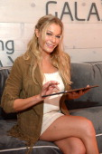 LeAnn Rimes at the Samsung Galaxy Artist Lounge at the 2014 CMA Music Festival on June 5 2014 in Nashville Tennessee