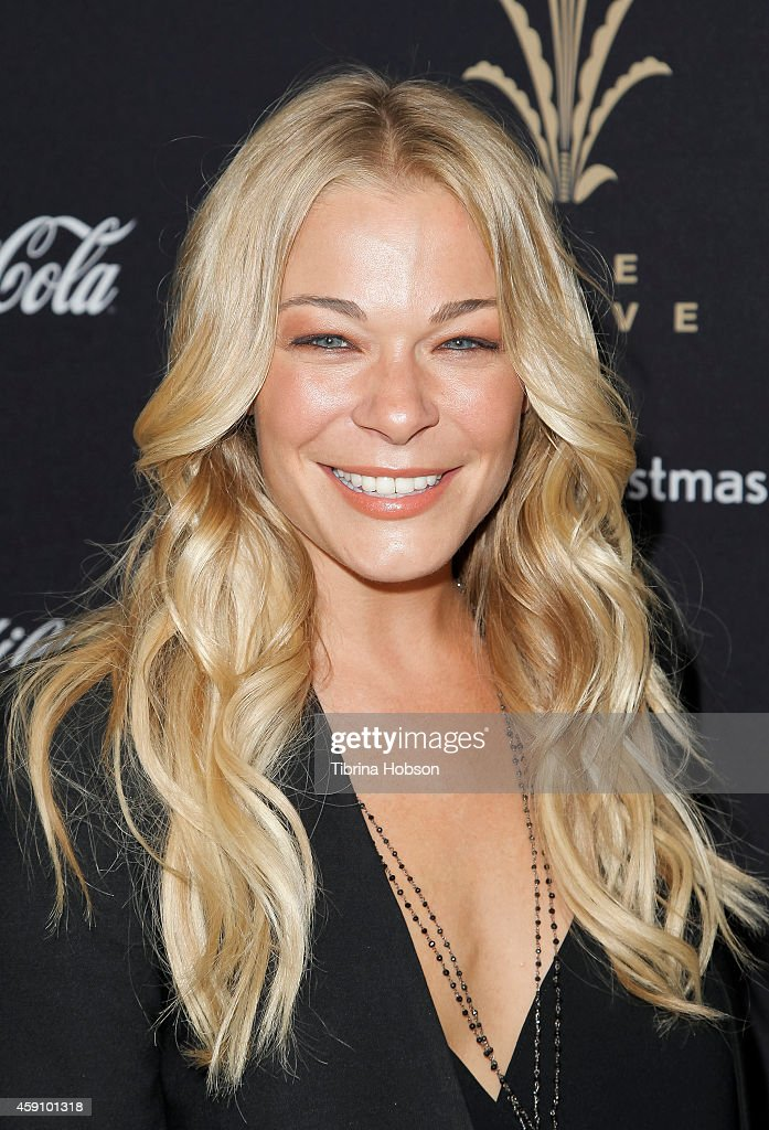 LeAnn Rimes attends The Grove's 12th annual Christmas tree lighting spectacular at The Grove on November 16 2014 in Los Angeles California