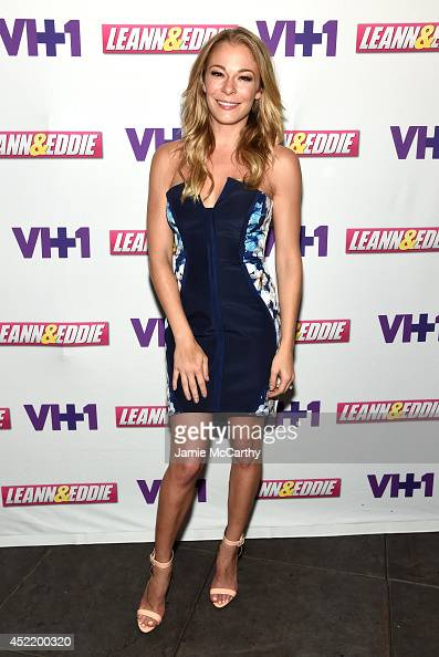 LeAnn Rimes attends the LeAnn Eddie Screening Party at Attic Rooftop Lounge on July 15 2014 in New York City