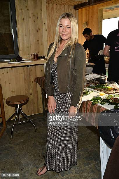 LeAnn Rimes attends the Project Angel Food presents in concert with Andrew von Oeyen on March 22 2015 in Malibu California