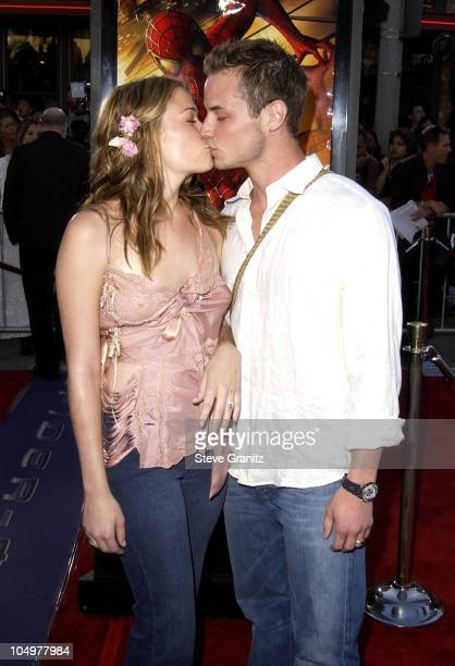 LeAnn Rimes Dean Sheremet during 'SpiderMan' Premiere at Mann Village in Westwood California United States