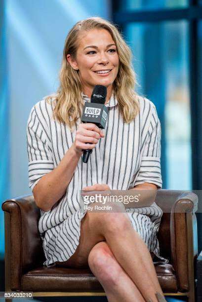 LeAnn Rimes discusses 'Logan Lucky' with the Build Series at Build Studio on August 17 2017 in New York City