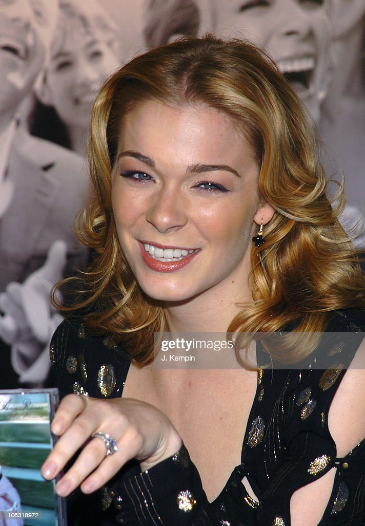 LeAnn Rimes during JCPenney Introduces LeAnn Rimes as the New Face of JCPenney Wedding Registry at JCPenney Times Square in New York City New York...