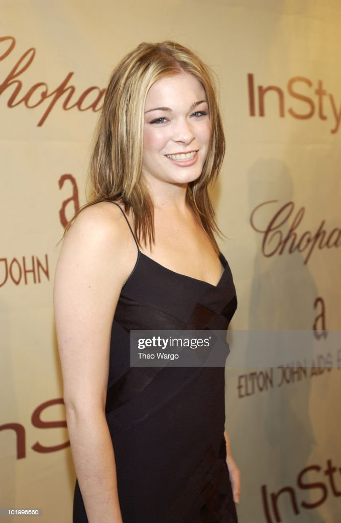 LeAnn Rimes during The 10th Annual Elton John AIDS Foundation InStyle Party Arrivals at Moomba Restaurant in Hollywood California United States