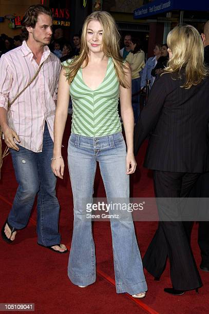 LeAnn Rimes during The World Premiere of 'Bruce Almighty' at Universal Amphitheatre in Universal City California United States