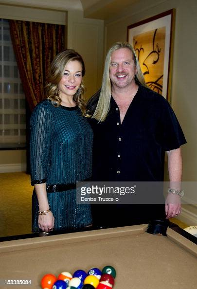 LeAnn Rimes gets styled by Michael Boychuck for performance in Las Vegas on December 14 2012 in Las Vegas Nevada