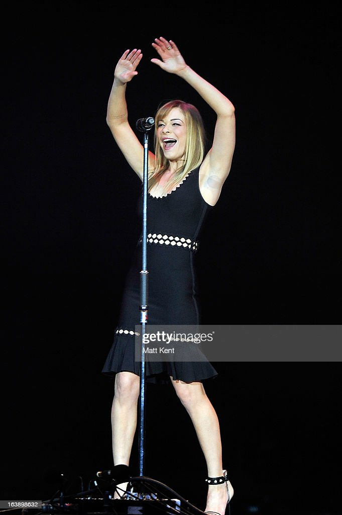 LeAnn Rimes performs as part of the Country 2 Country tour at O2 Arena on March 17, 2013 in London, England.