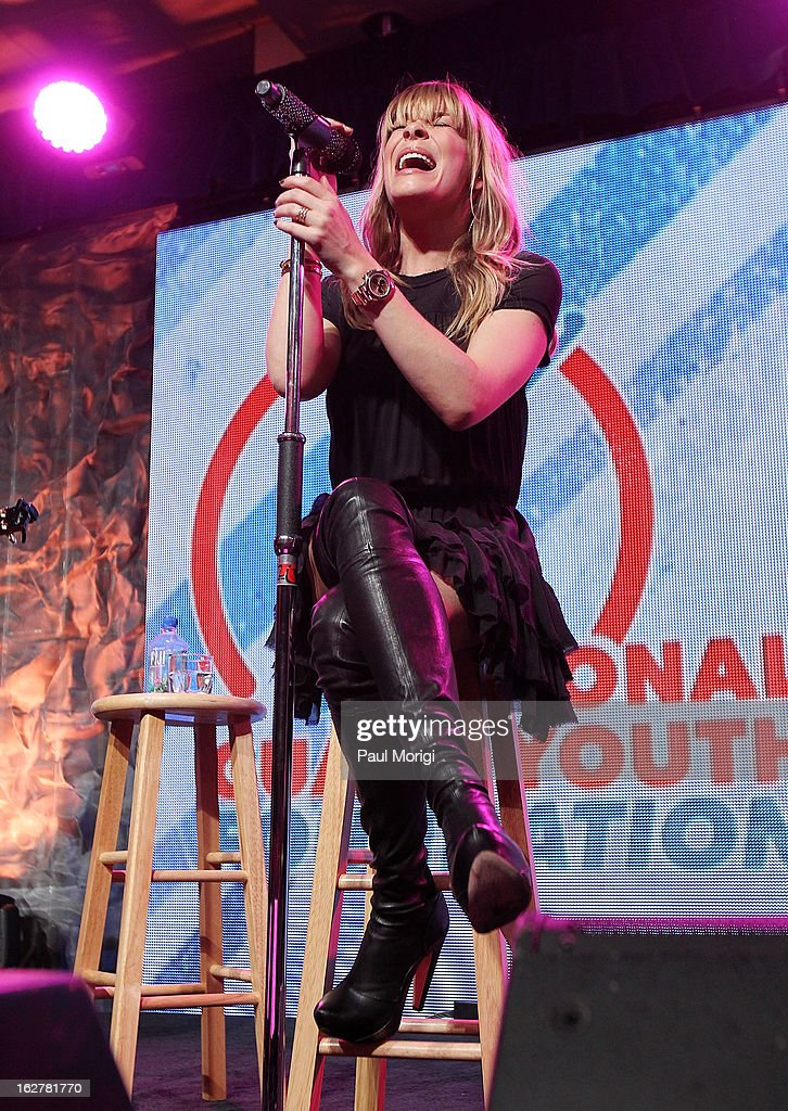 LeAnn Rimes performs at the 2013 ChalleNGe Champions Gala at JW Marriott Hotel on February 26, 2013 in Washington, DC.