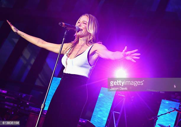 LeAnn Rimes performs at the Creative Artists Agency Party during day 2 of the IEBA 2016 Conference on October 10 2016 in Nashville Tennessee