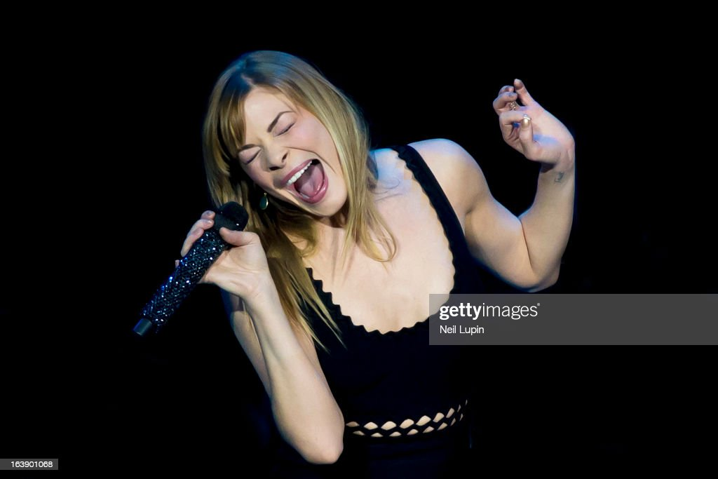 LeAnn Rimes performs on stage on Day 2 of C2C: Country To Country Festival 2013 at O2 Arena on March 17, 2013 in London, England.