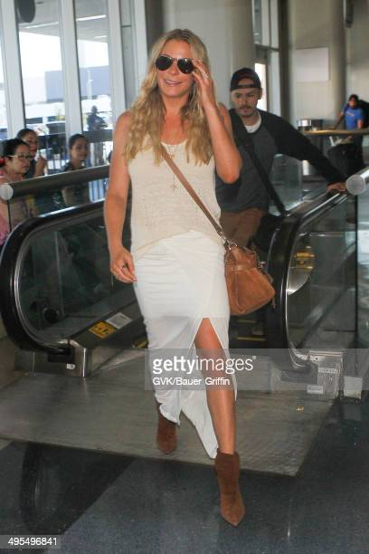LeAnn Rimes seen at LAX on June 03 2014 in Los Angeles California