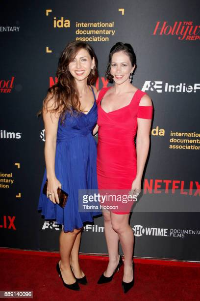 Leanna Borsellino Swingler and Lyndsey Rae Torres at the 33rd Annual IDA Documentary Awards at Paramount Theatre on December 9 2017 in Los Angeles...