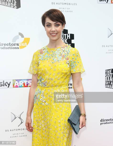 Leanne Cope attending The Southbank Sky Arts Awards 2017 at The Savoy Hotel on July 9 2017 in London England