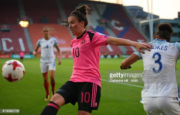 Leanne Crichton of Scotland Women during the UEFA Women's Euro 2017 match between England and Scotland at Stadion Galgenwaard on July 19 2017 in...