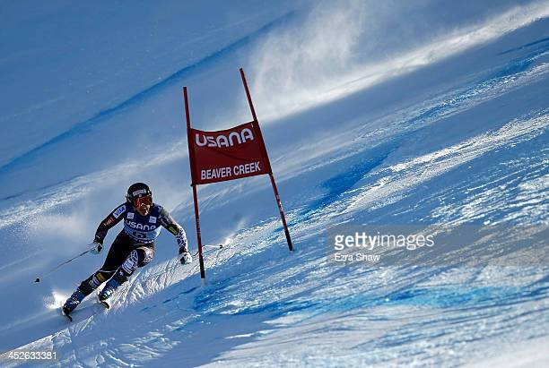 Leanne Smith of the USA in action during the FIS Beaver Creek Ladies' Super G World Cup Race on November 30 2013 in Beaver Creek Colorado