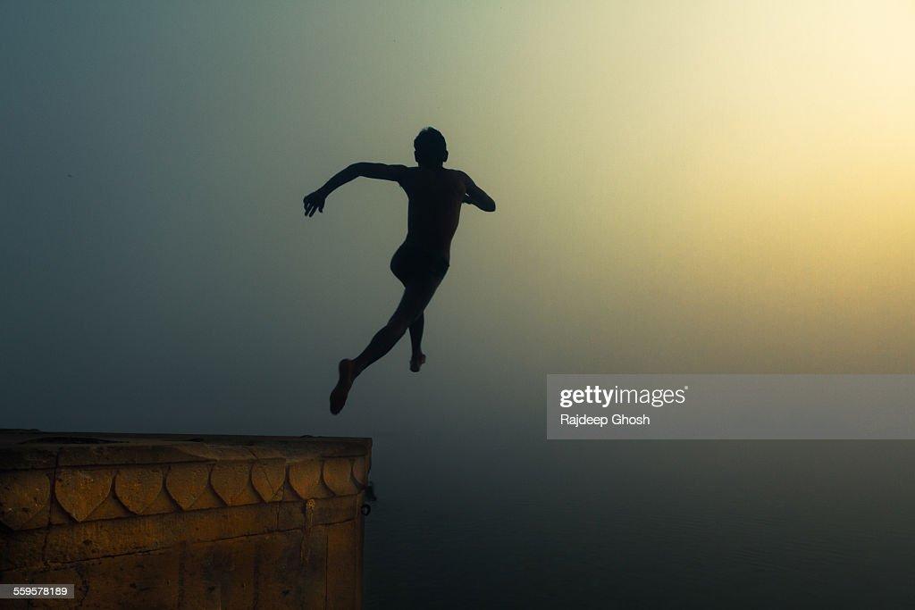 leap of faith in varanasi