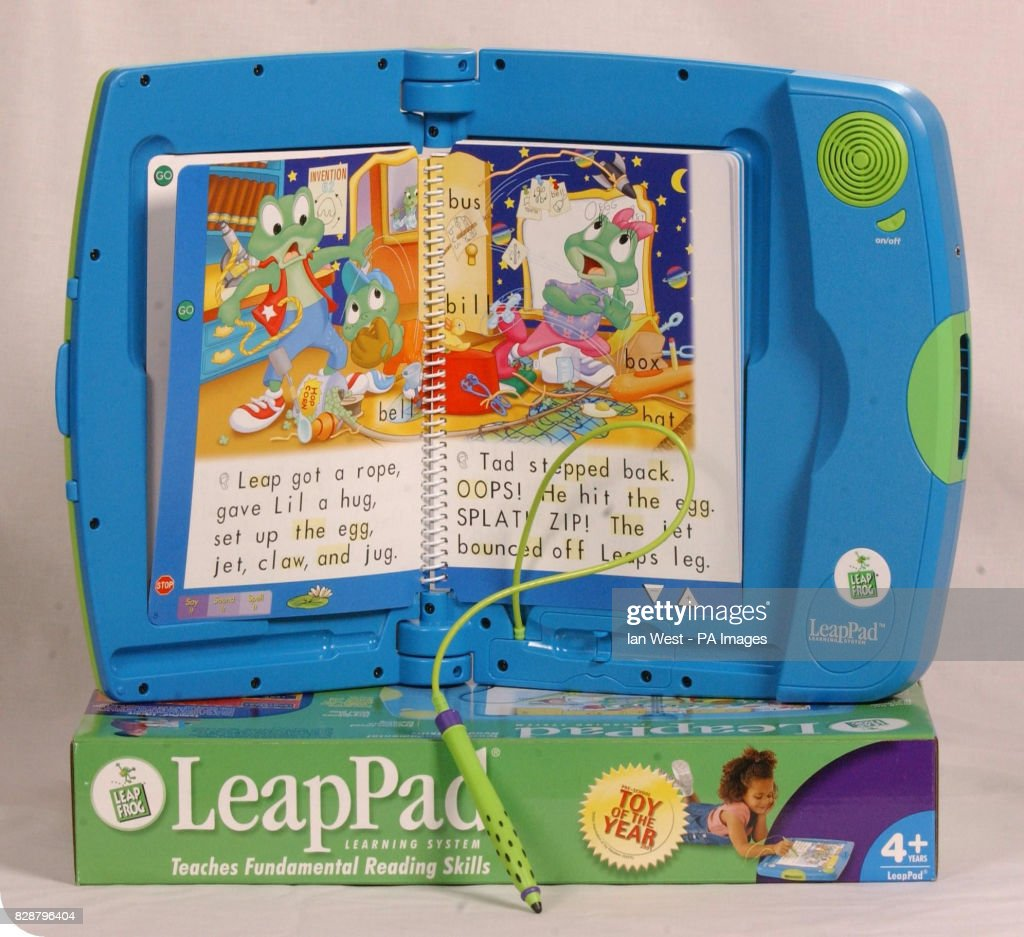 Leap Pad, one of the top 10 toys children are expected to want for Christmas, on show at Dream Toys 2003. Teenage Mutant Ninja Turtles, one of the best-selling toys from the 1980's, are also set to make a Christmas comeback, experts said. * Toy shop bosses believe the fighting foursome will be among the top 10 presents children will be demanding this year. Another old-time favourite is Barbie through the sale of a 'Swan Lake' version of the doll, according to the British Association of Toy Retailers (BATR).