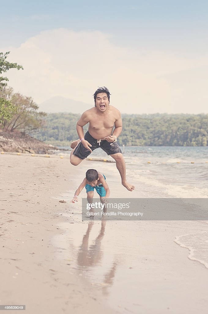 Leapfrog gone bad : Stock Photo