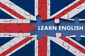 Learn English - Education Concept