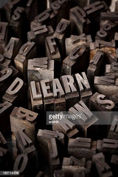 Apprenez en typographie de Type
