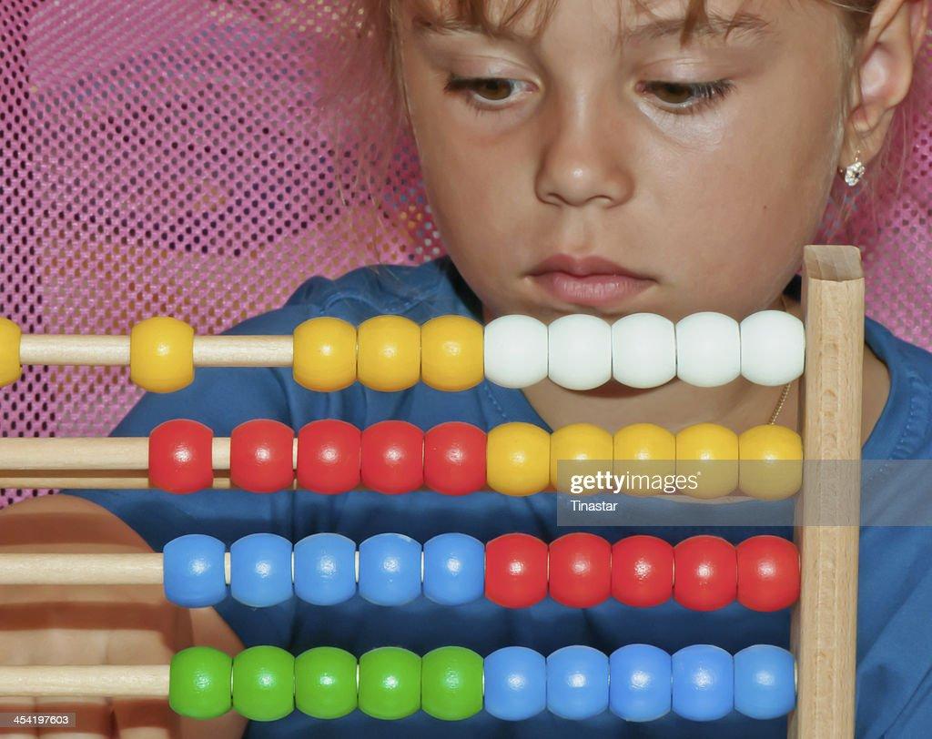 Aritmética de aprendizagem : Foto de stock