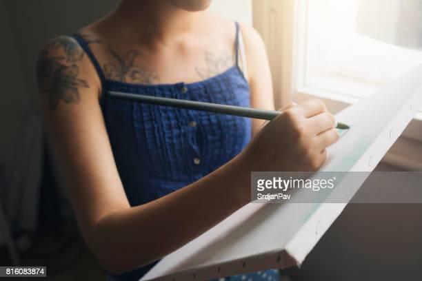 Künstlerische Fähigkeiten lernen