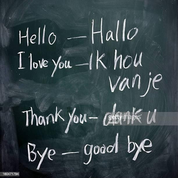 Apprentissage Langue néerlandaise