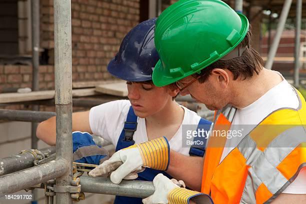 Apprentissage pour particulier builder.
