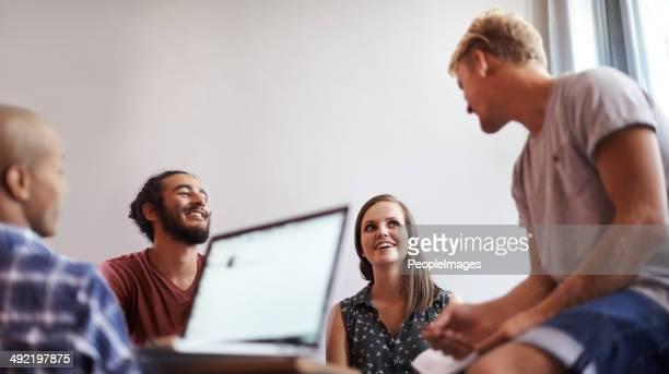Aprendizagem em um grupo é sempre mais divertida