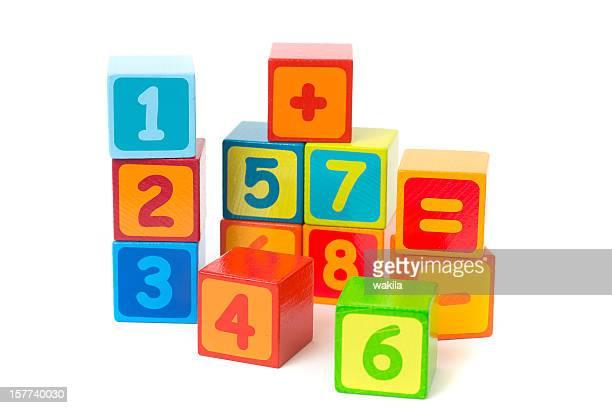 learning math - Bauklötze