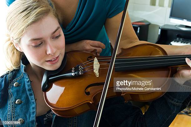 Learning to play the violin
