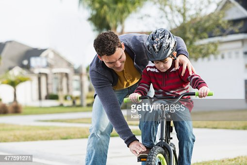 Learning to ride bicycle