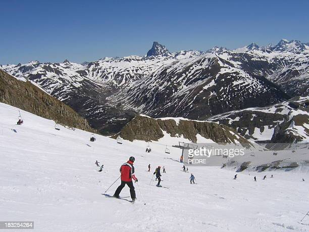 Aprendizaje a esquí